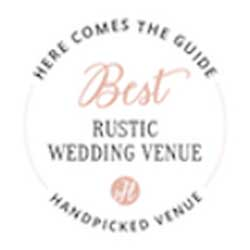 Here Comes The Guide Best Rustic Venue Award